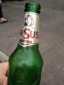 ルーマニアビール ウルスス